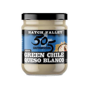 Hatch Valley Green Chile Blanco Queso Dip 15oz - 6 Pack Case