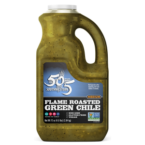 Hatch Valley Roasted Green Chile 72oz - 6 Pack Case