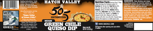 Hatch Valley Green Chile Queso 15oz - 6 Pack Case