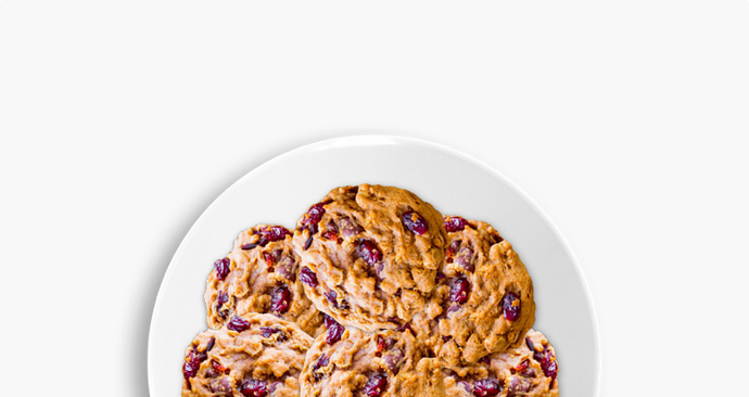 Cranberry walnut cookie