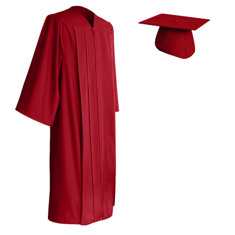 Red Cap and Gown
