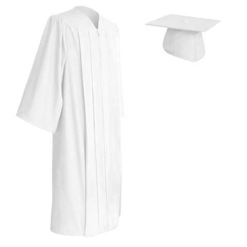White Cap and Gown