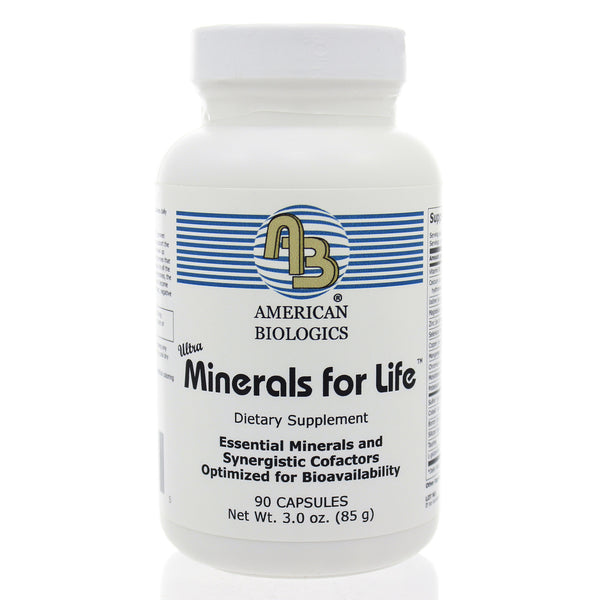 Minerals for Life 90c