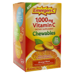 Emergen-C Super Orange Chews 40ct