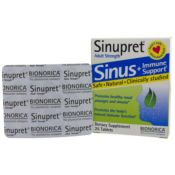 Sinupret Adult Strength 25t