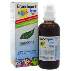Bronchipret Syrup For Kids 3.38oz/100ml (BioNorica)