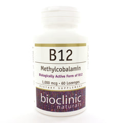 B12 Methylcobalamin 1000 mcg 60 Lozenges