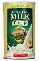 Better Than Milk Vegan Rice Powder Gluten Free Original -- 21.4 oz