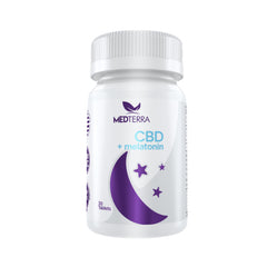 CBD + Melatonin 25mg 30t