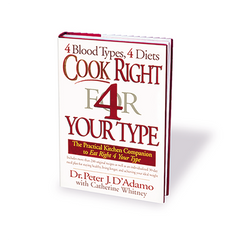 Cook Right 4 Your Type (hardcover)