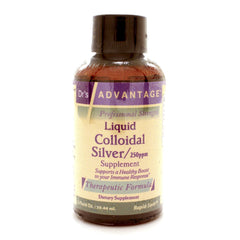 Liquid Colloidal Silver (250ppm) 2oz