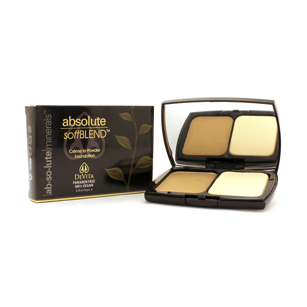 absolute SoftBLEND 15gm compact (St. Lucia #9)