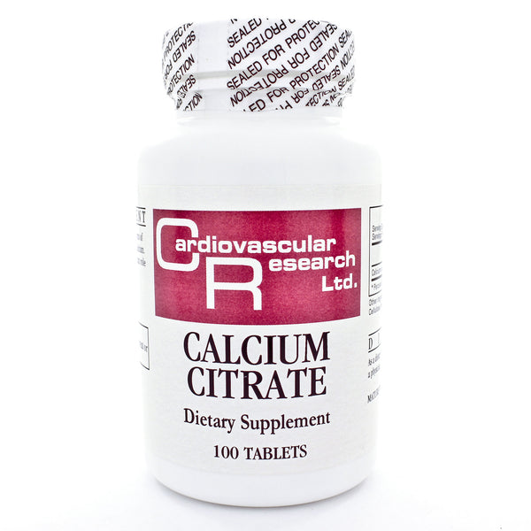 Calcium Citrate 165mg 100t