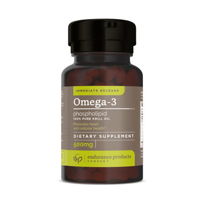 Immediate Release Omega 3 Phospholipid (100% Pure Krill Oil) 500mg 60sg