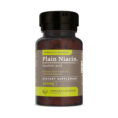 Immediate Release Plain Niacin (Nicotinic Acid) 500mg 100t