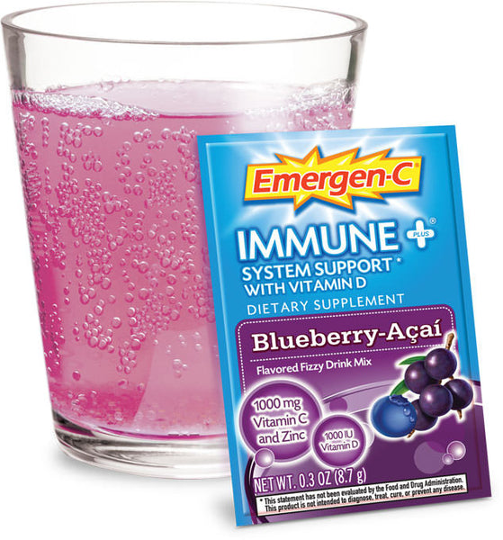 Emergen-C Immune+Blueberry-Acai 10 packets