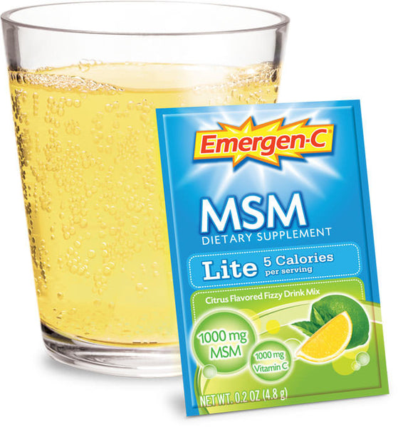 Emergen-C/Lite w/MSM 30 packets