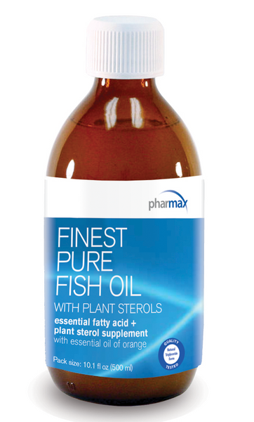 Finest Pure Fish Oil with Plant Sterols 300ml