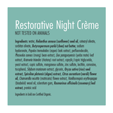 Restorative Night Creme 1.67oz - Genoma Skin Care