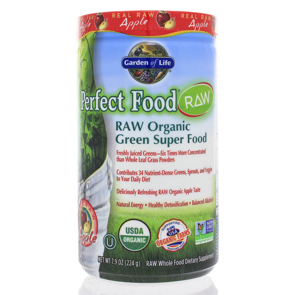 Perfect Food Raw Real Raw Organic Apple Powder 224g