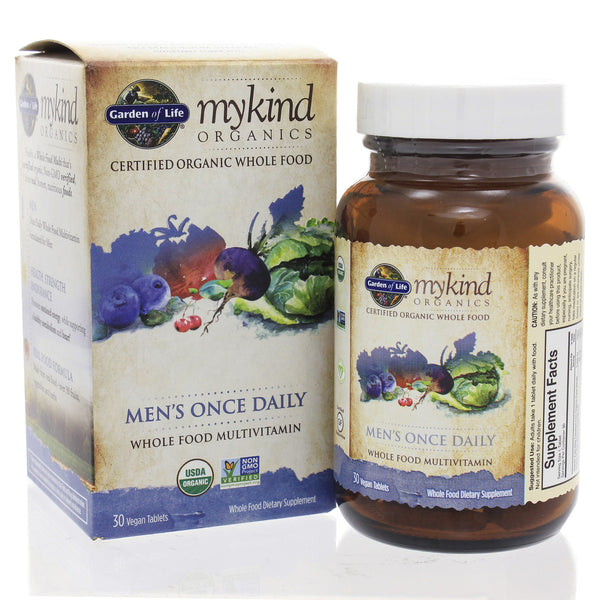 Mykind Organics Mens Once Daily 30t