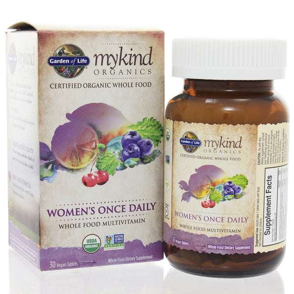Mykind Organics Womens Once Daily Multi 30t