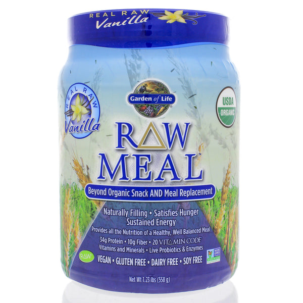 RAW Organic Meal Real Raw Vanilla 558g (Mini)