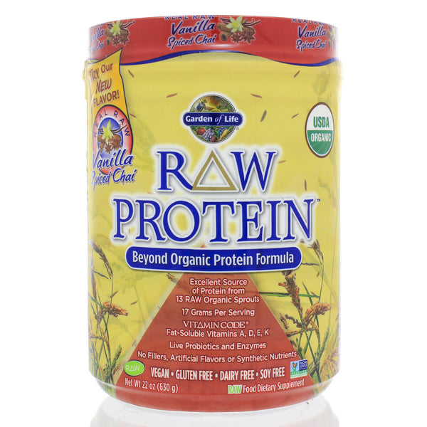 RAW Protein - Real Raw Vanilla Spiced Chai 630g