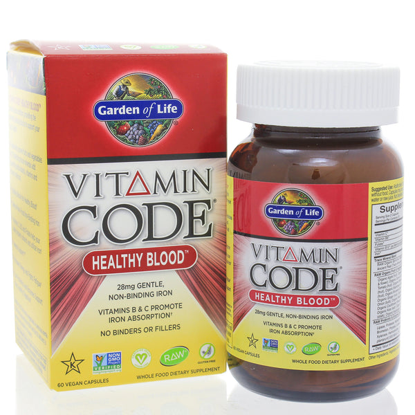 Vitamin Code Healthy Blood 60c