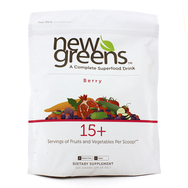 New Greens Powder/Berry 10 oz