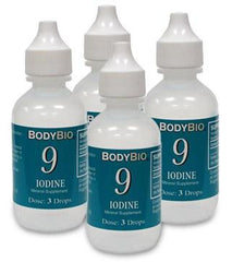 Iodine #9  Liquid  4 pack  2oz