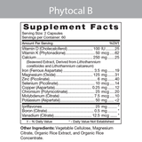 Phytocal Mineral Formula (Type B) 120c