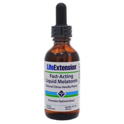 Fast-Acting Liquid Melatonin Citrus-Vanilla Flavor 2oz
