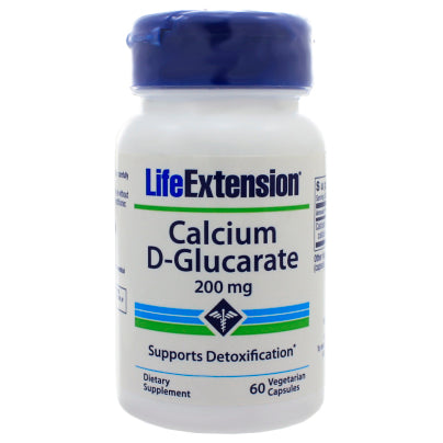Calcium D Glucarate 200mg 60c