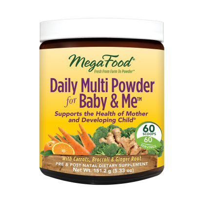 Daily Multi Powder for Baby & Me™ 5.33oz (151.2g)