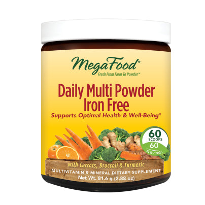 Daily Multi Powder Iron Free 81.6g