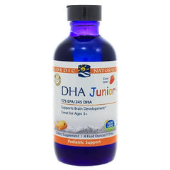 DHA Junior Liquid Strawberry Liquid 4oz