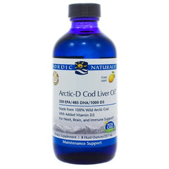Arctic-D Cod Liver Oil Lemon Liquid 8oz