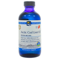 Arctic Cod Liver Oil Strawberry Liquid 8oz