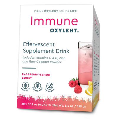 Immune, Raspberry-Lemon Boost 30pk