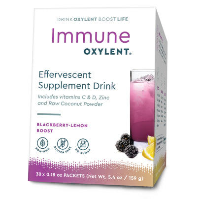Immune, Blackberry-Lemon Boost 30pk