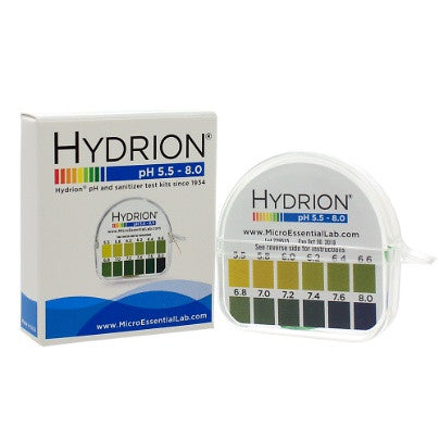 Perque pH Hydrion Papers(5.5-8) 1 roll