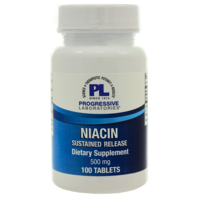 Niacin Sustained Release 500mg 100t