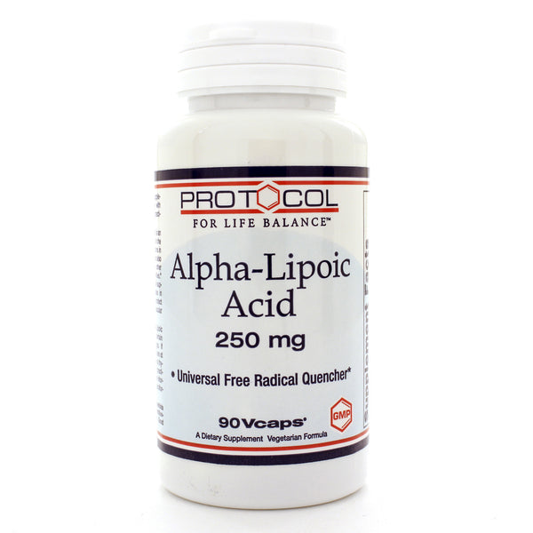 Alpha Lipoic Acid 250mg 90c
