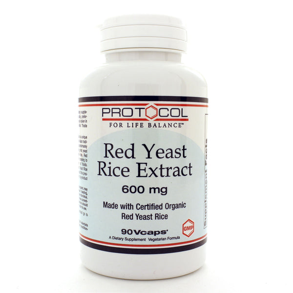 Red Yeast Rice Extract 600mg 90c