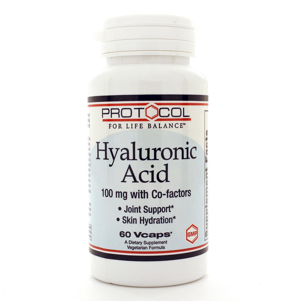 Hyaluronic Acid 100mg with Co-factors 60c