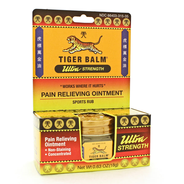 Tiger Balm Ultra Strength Non-Staining 63oz