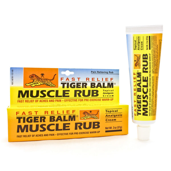 Tiger Muscle Rub Non-Staining & Greaseless 2oz