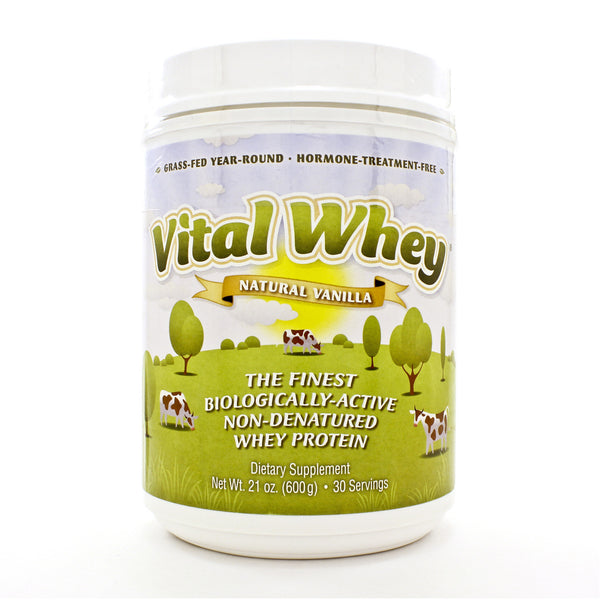 Vital Whey® Natural Vanilla Powder 600 Grams