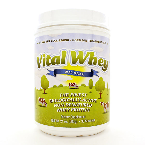Vital Whey® Natural Flavor Powder 600 Grams